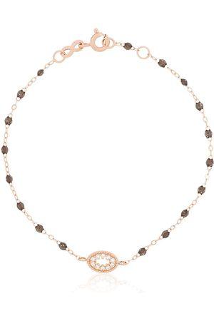 GIGI CLOZEAU 18K rose gold Quartz Me Hearty bracelet