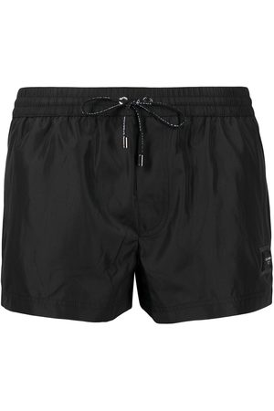 Dolce & Gabbana Logo-patch swim shorts