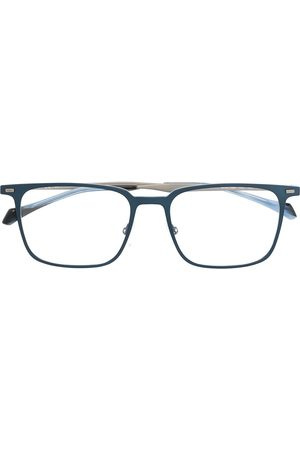 HUGO BOSS Square-shape clear-lens glasses
