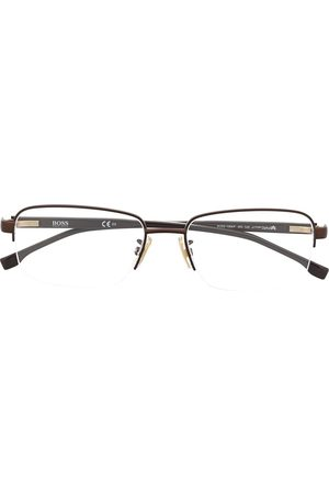 HUGO BOSS Rectangle-frame glasses