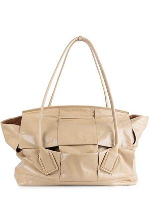 Bottega Veneta Maxi Arco Leather Satchel