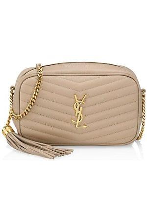 Saint Laurent Women Handbags - Mini Lou Matelassé Leather Camera Bag