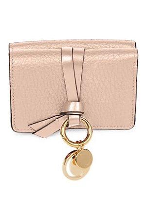 Chloé Mini Alphabet Leather Wallet