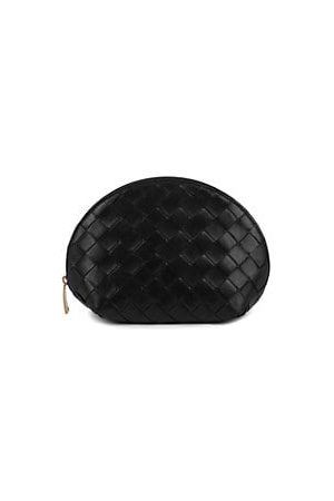 Bottega Veneta Oval Leather Pouch