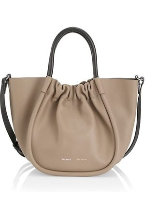Proenza Schouler Small Ruched Leather Tote