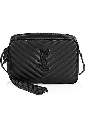 Saint Laurent Lou Matelassé Leather Camera Bag