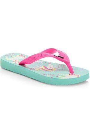 Havaianas Girls Flip Flops - Girl's Unicorn Flip Flops