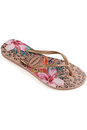 Havaianas Girls Flip Flops - Baby's, Little Girl's & Girl's Slim Animal Floral Flip Flops