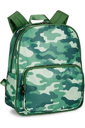 Stoney Clover Lane Girls Rucksacks - Small Camo-Print Nylon Backpack