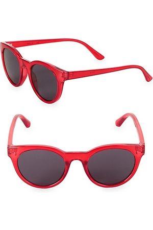 Junia Boys Sunglasses - Fizz Translucent Round Sunglasses
