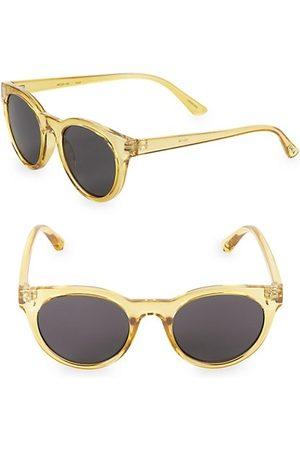 Junia Fizz Translucent Round Sunglasses