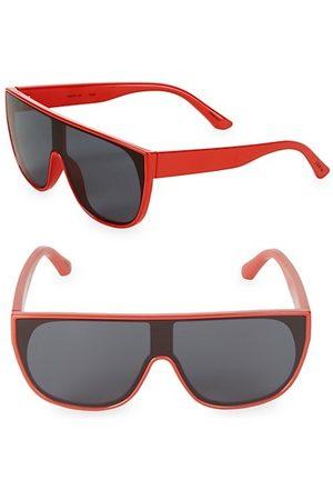 Junia Boys Sunglasses - Pow Flat-Top Shield Sunglasses
