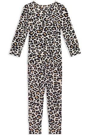 Posh Peanut Baby's, Little Girl's & Girl's Lana 2-Piece Leopard-Print Pajama Set