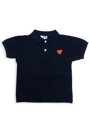 Comme des Garçons Boys Polo Shirts - Little Kid's Logo Polo Shirt