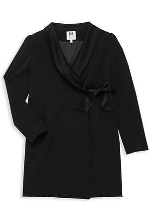 Milly Girl's Wrap Blazer Dress
