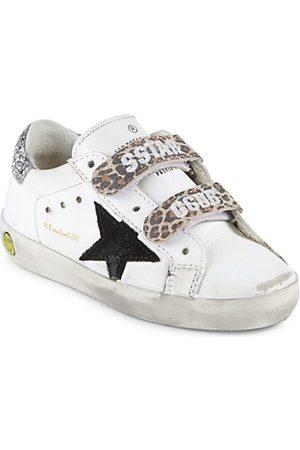 Golden Goose Girls School Shoes - Baby's & Little Girl's Old School Star Sneakers