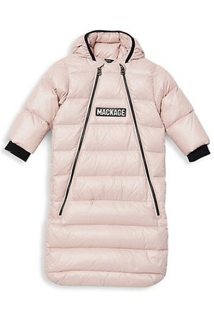 Mackage Girls Ski Suits - Baby Girl's Allie Down Bunting Quilted Snowsuit