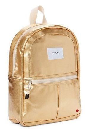 STATE Bags Girls Rucksacks - Kane Mini Metallic Backpack