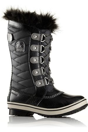 Sorel Girls Snow Boots - Girl's Tofino II Faux Fur-Cuff Quilted Snow Boots
