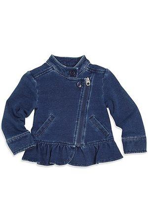 Splendid Girls Denim Jackets - Baby Girl's Asymmetric Denim Jacket