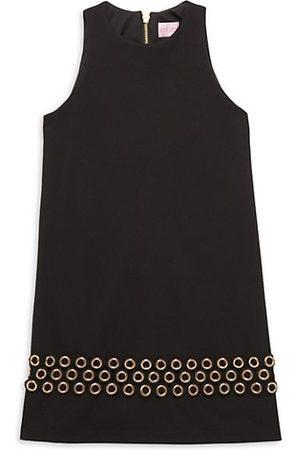 Zoe Girl's Knit Grommet Dress