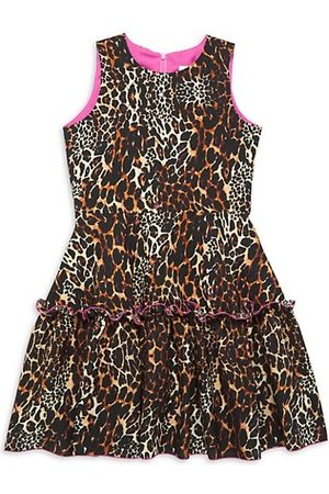 Zoe Girl's Cheetah Flirty Dress