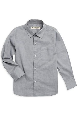 Appaman Little Boy's & Boy's Pindot Casual Cotton Button-Down Shirt