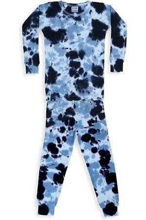 Baby Steps Baby's, Little Boy's & Boy's Jacob 2-Piece Tie-Dye Thermal Pajama Set