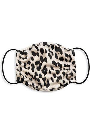 ALICE+OLIVIA Leopard Print Face Mask