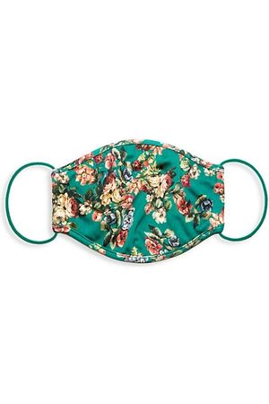 ALICE+OLIVIA Luggage - Floral Print Face Mask