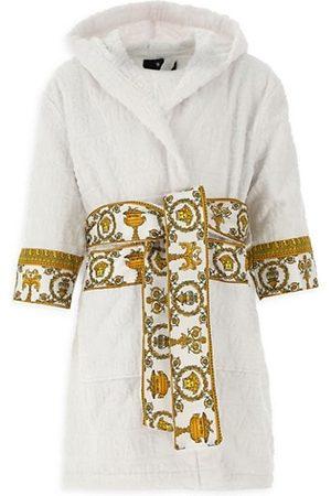 VERSACE Little Kid's & Kid's Decorative Trim Cotton Robe