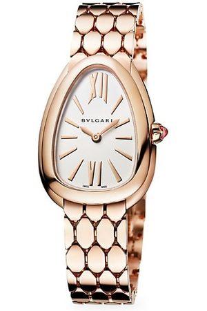 Bvlgari Serpenti Seduttori 18K Rose Gold Bracelet Watch