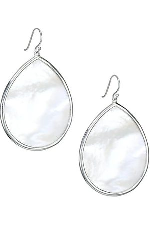 Ippolita Polished Rock Candy Large Sterling & Mother-Of-Pearl Teardrop Earrings