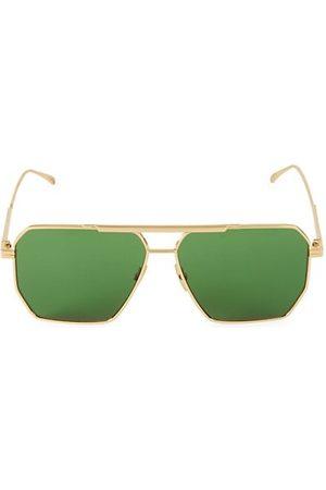 Bottega Veneta 60MM Trapezoid Sunglasses