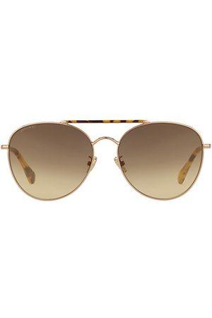 Jimmy Choo Abbie 61MM Aviator Sunglasses