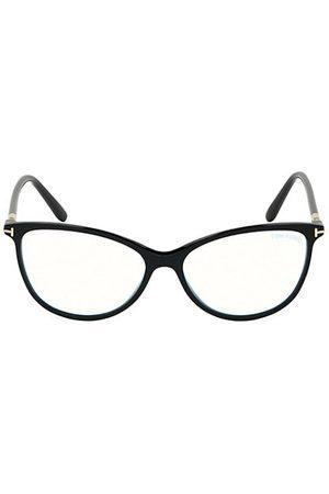 Tom Ford 54MM Blue Block Cat Eye Eyeglasses