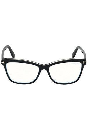 Tom Ford Women Sunglasses - 55MM Square Blue Block Optical Glasses