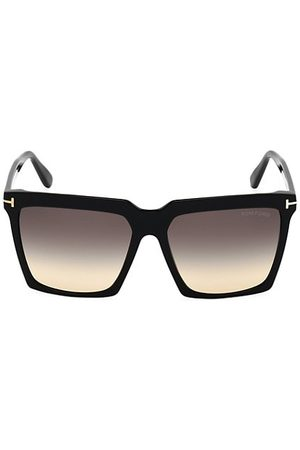 Tom Ford Women Sunglasses - Sabrina 58MM Square Sunglasses