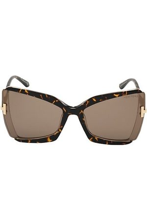 Tom Ford Gia 63MM Butterfly Sunglasses