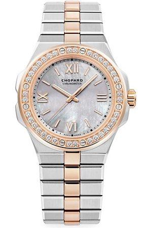 Chopard Watches - Alpine Eagle 18K Rose Gold, Stainless Steel & Diamond Bracelet Watch