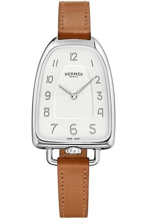 Hermès Watches - Galop 26MM Stainless Steel & Leather Strap Watch