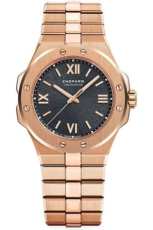 Chopard Alpine Eagle 18K Rose Gold Bracelet Watch