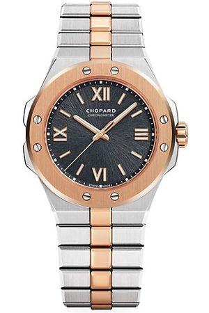 Chopard Alpine Eagle 18K Rose & Stainless Steel Bracelet Watch
