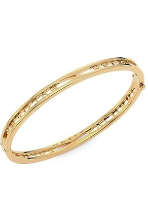Bvlgari Bracelets - B.zero1 18K Yellow Logo Bangle Bracelet