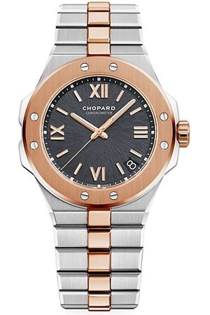 Chopard Alpine Eagle 18K Rose Gold & Stainless Steel Bracelet Watch