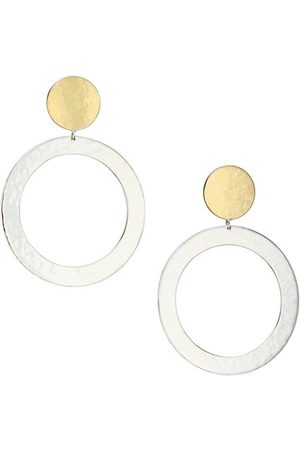 Ippolita Men Earrings - Classico Large Chimera Two-Tone Open Snowman Earrings