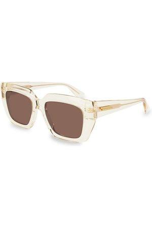 Bottega Veneta Sunglasses - 52MM Square Sunglasses