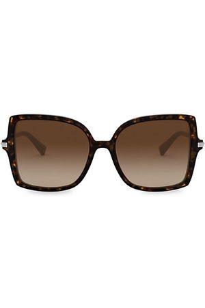 VALENTINO Sunglasses - 56MM Square Sunglasses