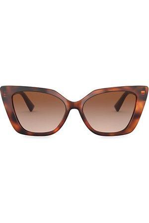 VALENTINO Sunglasses - 56MM Cat Eye Sunglasses