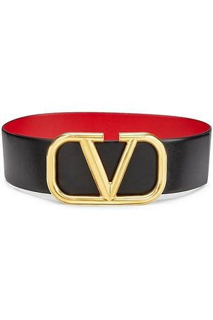 VALENTINO Belts - Garavani Vlogo Leather Belt